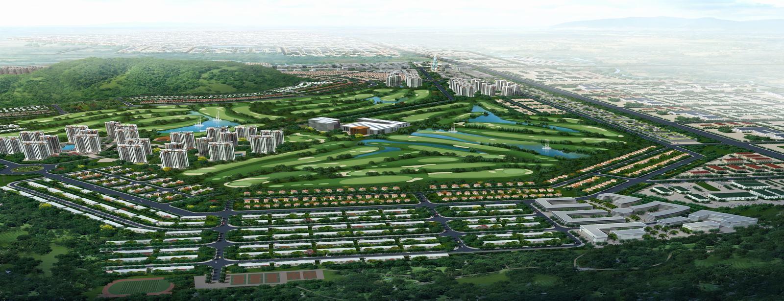 Khu công nghiệp đô thị & Sân golf Châu Đức